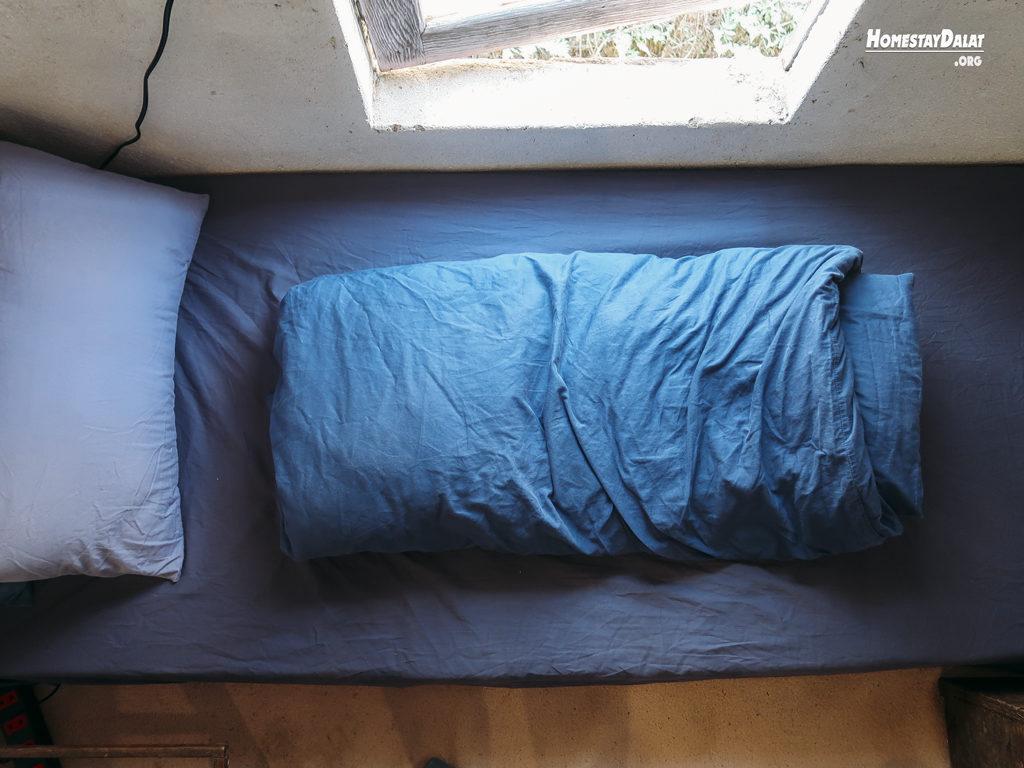 Giường dorm Homefarm homestay Đà Lạt