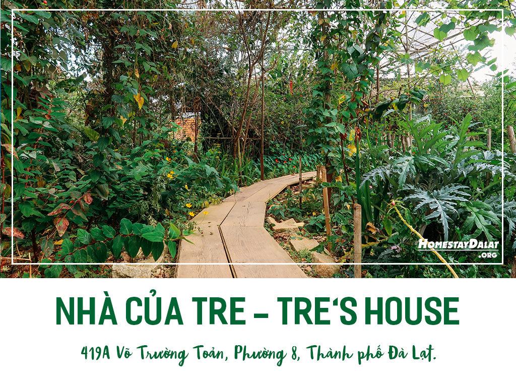 Giới thiệu homestay Nhà Của Tre - Tre's House - top 4 homestay Đà Lạt tháng 5 năm 2019 do HomestaydalatORG bình chọn