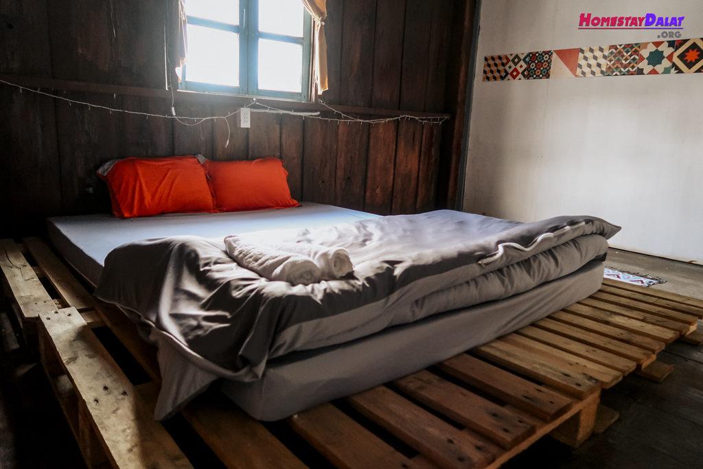 Giường đơn ở The Town homestay