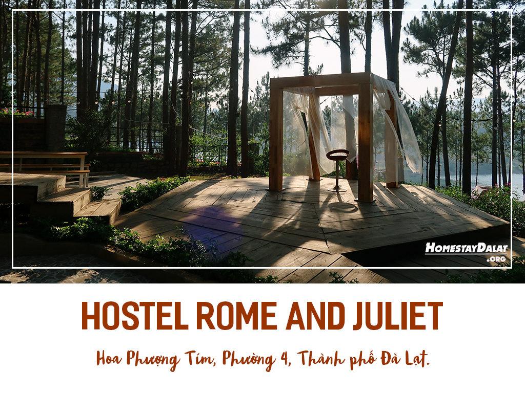 Giới thiệu hostel Romeo and Juliet Đà Lạt- top 4 homestay Đà Lạt tháng 5 năm 2019 do HomestaydalatORG bình chọn