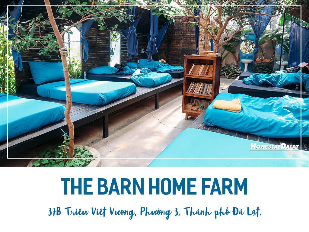 Giới thiệu The Barn Home Farm homestay Đà Lạt