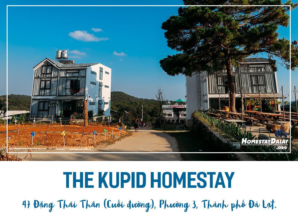 Giới thiệu The Kupid homestay Đà Lạt