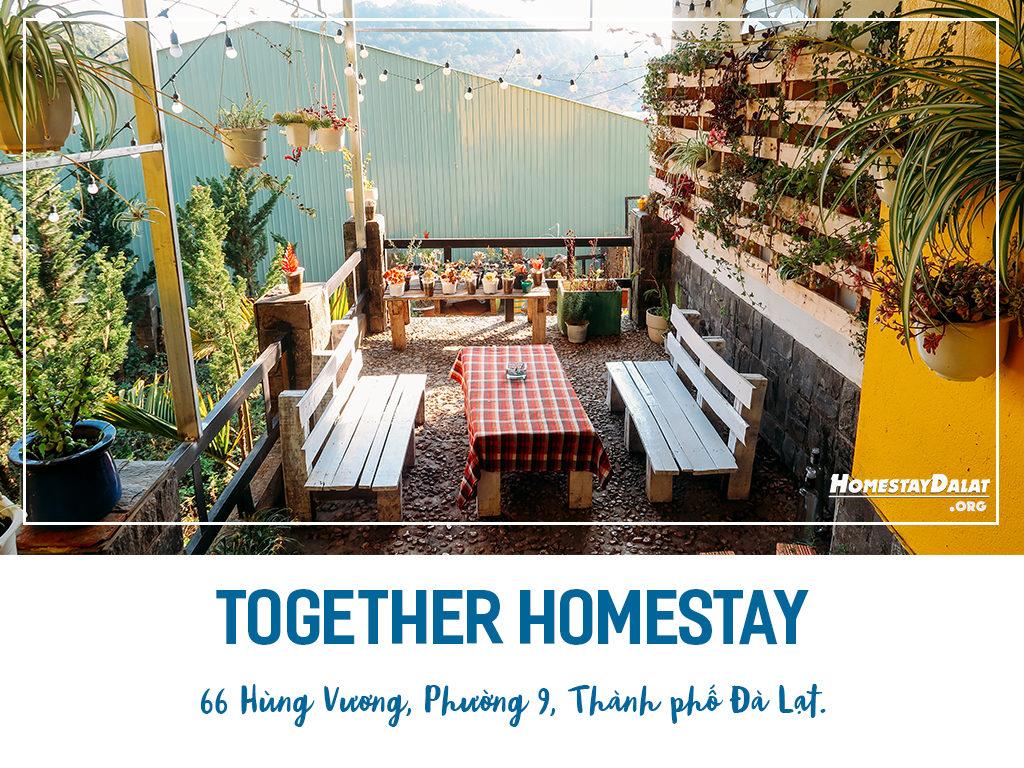 Giới thiệu Together homestay Đà Lạt