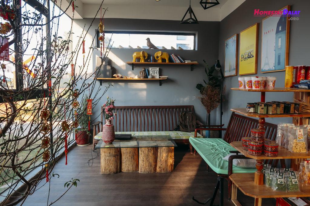 Nơi khách chờ check in hoặc check out The Kupid