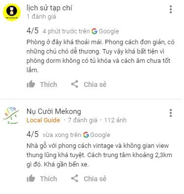 Review khách The Town homestay Đà Lạt