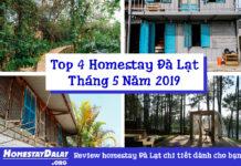 Top 4 homestay Đà lạt tháng 5 năm 2019