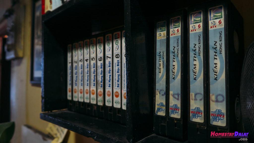 Những băng phim cũ quý giá