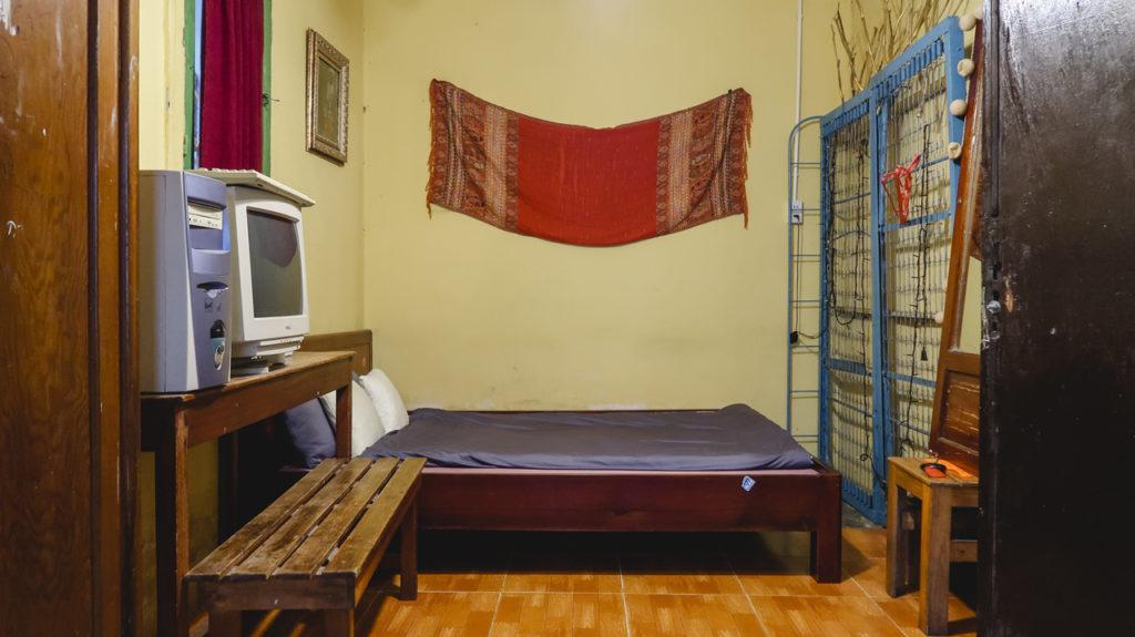 Một phần không gian phòng đôi Nhà Của Bảo