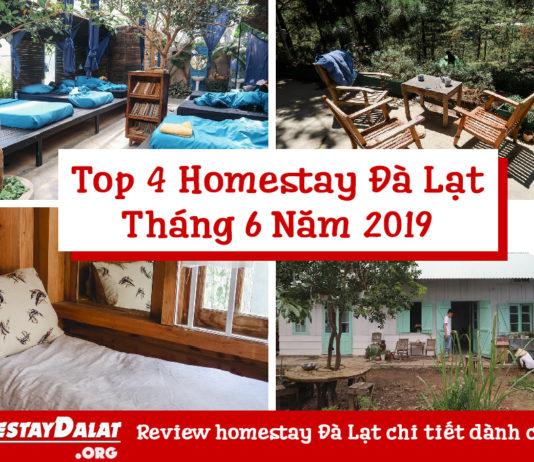 Top 4 homestay Đà Lạt tháng 6 năm 2019
