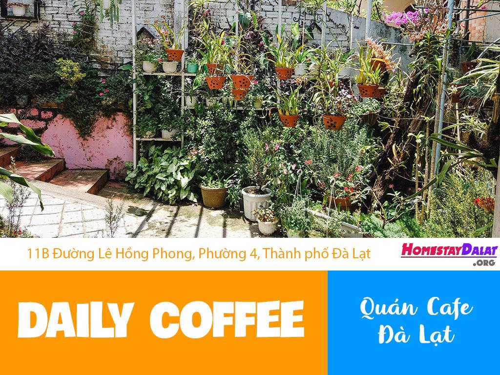 Giới thiệu Daily Coffee Đà Lạt