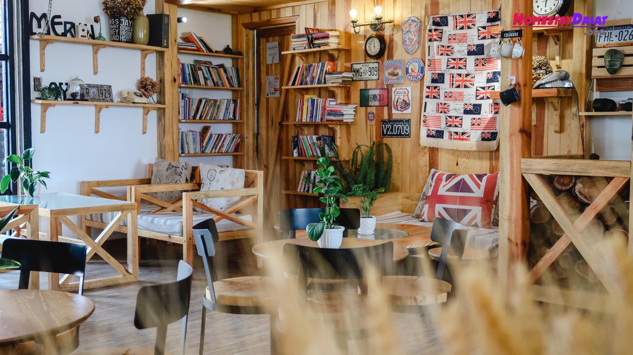 Không gian Woodstock Coffee Dalat