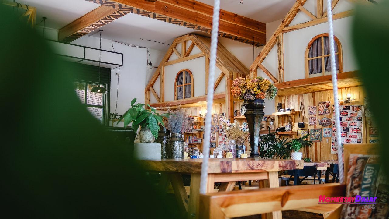 Phong cách Texas ở Woodstock Coffee Dalat