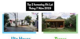 Top 2 homestay Đà Lạt tháng 7 năm 2019