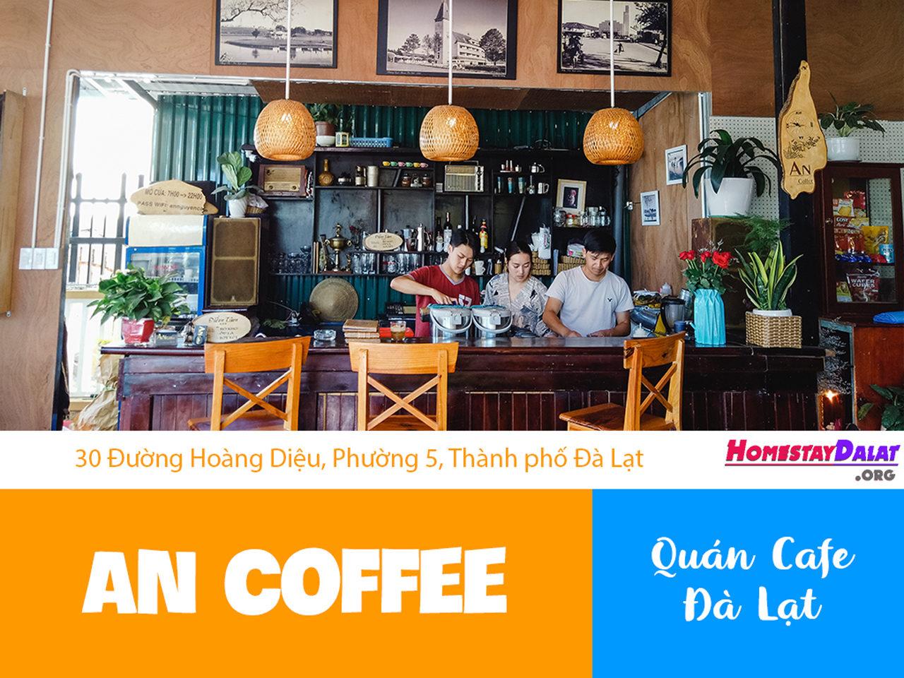 Giới thiệu An Coffee Hoàng Diệu