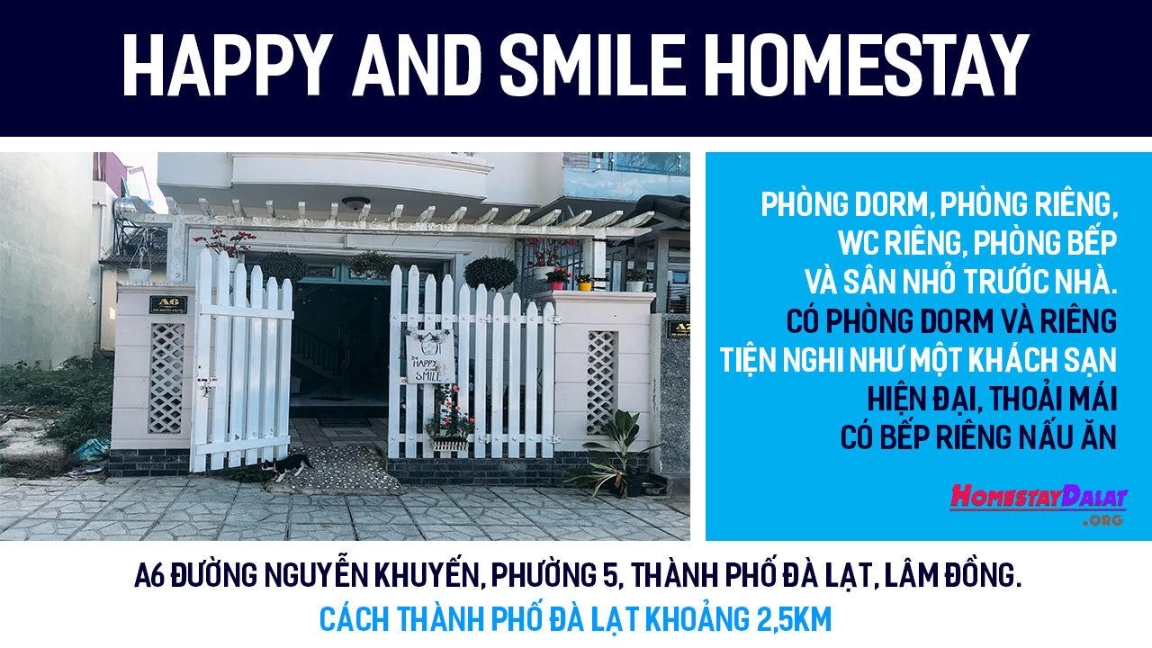 Giới thiệu Happy And Smile homestay Đà Lạt