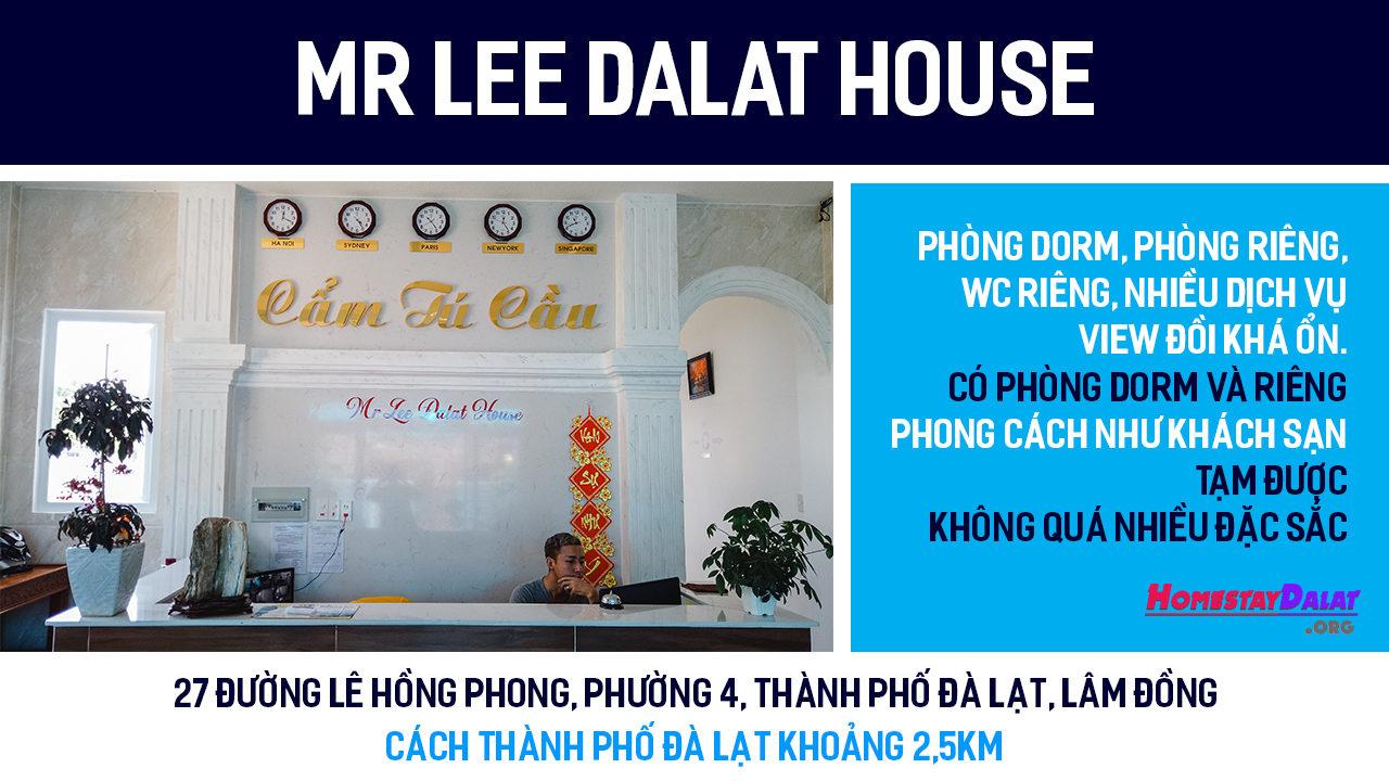 Giới thiệu MrLee Dalat House
