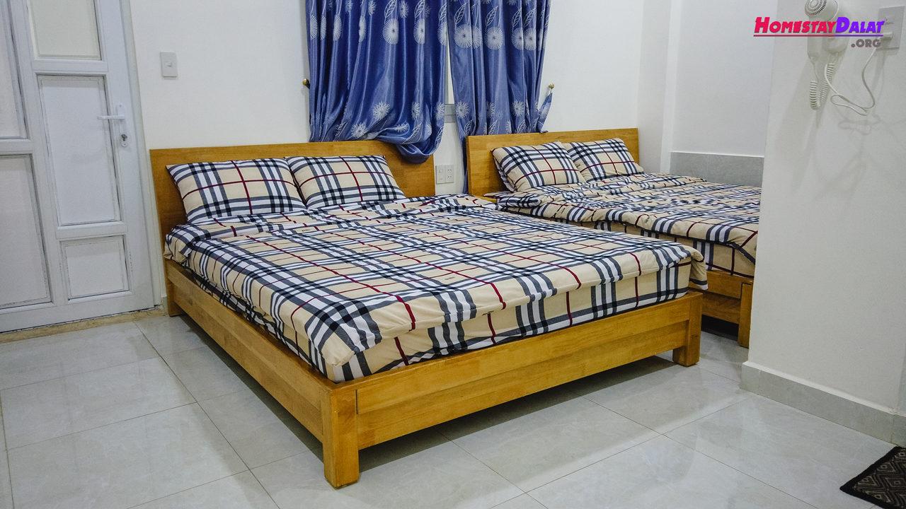 Phòng giường đôi ở MrLee Dalat House