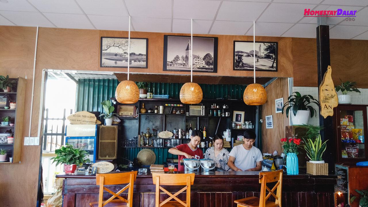 Quầy bar An Coffee Hoàng Diệu
